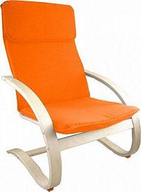Falco Relaxační křeslo oranžové