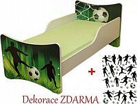 Forclaire Dětská postel Fotbal postel bez úložného prostoru 200x90cm