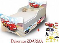 Forclaire Dětská postel Racer Postel bez úložného prostoru 200x90cm