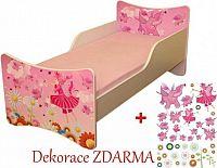 Forclaire Dětská postel Víly postel bez úložného prostoru 200x90cm