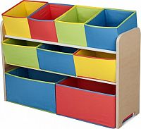 Forclaire Organizér na hračky multicolor