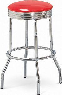 Halmar Barová židle H-73 černá