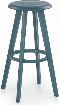 Halmar Barová židle H-77 bílá