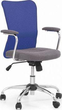 Halmar Dětská židle Andy Zeleno-šedá