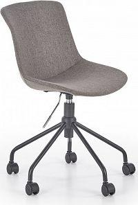 Halmar Dětská židle DOBLO, šedá