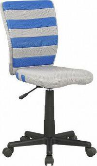 Halmar Dětská židle Fuego Fialovo-šedá