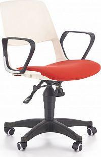 Halmar Dětská židle Jack, bílo-červená