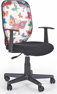 Halmar Dětská židle KIWI, motýly