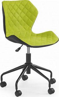 Halmar Dětská židle Matrix černá