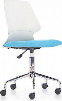 Halmar Dětská židle Skate, bílo-modrá
