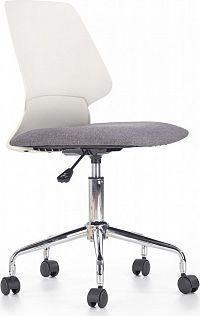 Halmar Dětská židle Skate, bílo-šedá