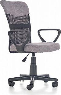 Halmar Dětská židle Timmy, šedá
