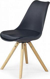 Halmar Jídelní židle K201 žlutá