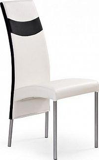Halmar Jídelní židle K51 černo-červená