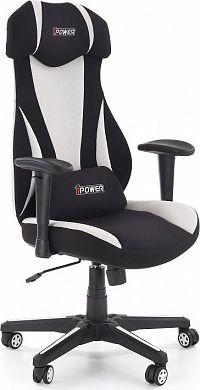 Halmar Kancelářská židle Abart - černá/bílá