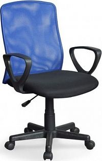 Halmar Kancelářská židle Alex Šedo-černá