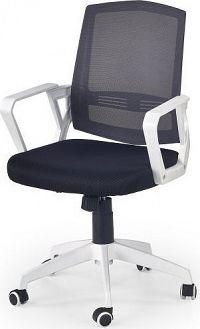 Halmar Kancelářská židle Ascot Bílo-černá