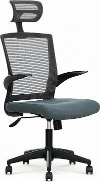 Halmar Kancelářská židle Valor, černo-šedá
