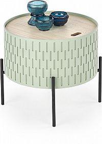 Halmar Konferenční stolek Sintra - zelený