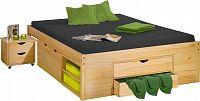 Idea Dvoulůžková postel KLASA