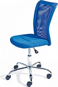 Idea Kancelářská židle BONNIE modrá