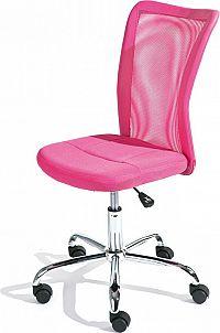Idea Kancelářská židle BONNIE růžová
