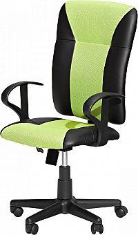Idea Kancelářské křeslo KING zelené K86