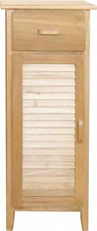 Idea Komoda 1 dveře + 1 zásuvka lak