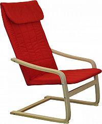 Idea Křeslo LISA červené K51