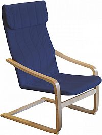 Idea Křeslo LISA modré K52