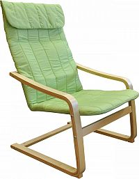 Idea Křeslo LISA zelené K78