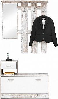 Idea Předsíňová stěna fresco/bílá