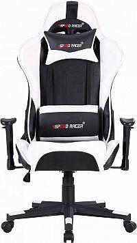 Idea Racing chair SPEED RACER bílý