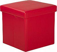 Idea Sedací úložný box červený