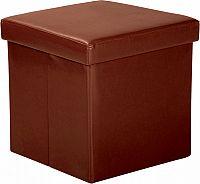 Idea Sedací úložný box hnědý