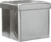 Idea Sedací úložný box stříbrný