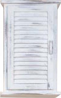 Idea Závěsná skříňka 1 dveře bílá antik