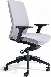 Office Pro Kancelářská židle J2 BP černý plast - šedá 206