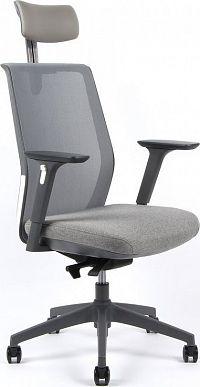 Office Pro Kancelářská židle PORTIA - šedá