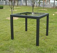 Rojaplast Stůl RATAN - 80x80cm