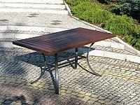 Rojaplast Stůl WELLINGTON - černý (FSC)