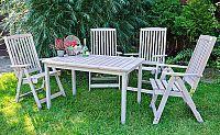 Rojaplast Zahradní stůl HOLIDAY - šedý