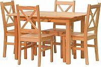 Stima Jídelní set židle Pino x + stůl Pino 120x80 cm