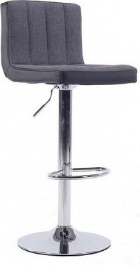 Tempo Kondela Barová židle HILDA - šedá / černá + kupón KONDELA10 na okamžitou slevu 10% (kupón uplatníte v košíku)