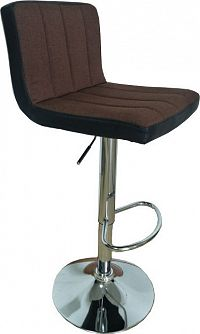 Tempo Kondela Barová židle, hnědá / černá, HILDA + kupón KONDELA10 na okamžitou slevu 10% (kupón uplatníte v košíku)