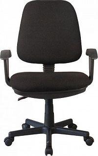 Tempo Kondela Kancelářská židle COLBY - černá + kupón KONDELA10 na okamžitou slevu 10% (kupón uplatníte v košíku)