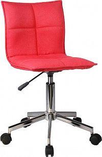 Tempo Kondela Kancelářská židle CRAIG - červená + kupón KONDELA10 na okamžitou slevu 10% (kupón uplatníte v košíku)