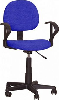 Tempo Kondela Kancelářská židle TC3-227 - modrá + kupón KONDELA10 na okamžitou slevu 10% (kupón uplatníte v košíku)