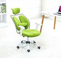 Tempo Kondela Kancelářské křeslo BENNO UT-C568X - zelená / bílá + kupón KONDELA10 na okamžitou slevu 10% (kupón uplatníte v košíku)