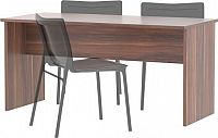 Tempo Kondela Kancelářský stůl oboustranný JOHAN NEW 08 - švestka + kupón KONDELA10 na okamžitou slevu 10% (kupón uplatníte v košíku)